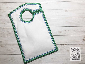"Blank Closet Organizer - Fits a 5x7""Hoop - Machine Embroidery Designs"