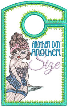 """Another Day, Another Size - Closet Organizer - Fits a 5x7""""Hoop - Machine Embroidery Designs"""