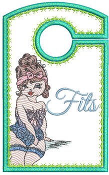 "Fits - Closet Organizer - Fits a 5x7""Hoop - Machine Embroidery Designs"