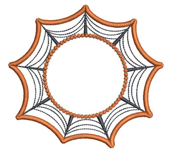 "Web Coaster - Blank - Fits in a 5x7"" Hoop - Instant Downloadable Machine Embroidery"