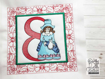 "12 Days of Christmas QB - 8 - Fits a  5x5"", 6x6"", 7x7"", 8x8"" & 10x10""  Hoop - Machine Embroidery Designs"
