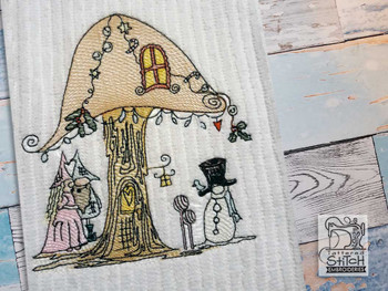 "NE Winter Gnomes  - Fits a  4x4"", 5x7"" &  6x10"" Hoop - Machine Embroidery Designs"