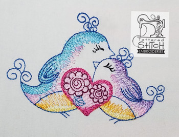 love birds machine embroidery design stitched out