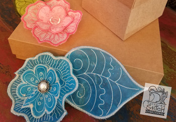 3D Blooms Bundle - In the Hoop - Embroidery Designs