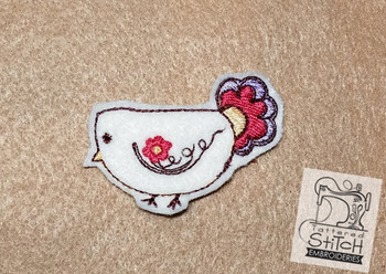 Sweet Chick  Feltie  - Embroidery Designs