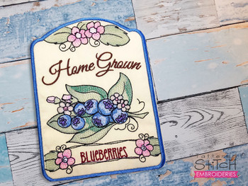 Blueberries Bundle  - Machine Embroidery Designs
