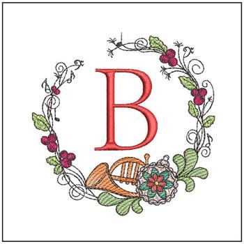 French Horn Wreath ABCs Bundle