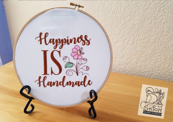 Happiness is Handmade - Embroidery Designs