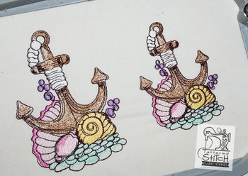 Anchor - Machine Embroidery Designs - Fits a 4x4 & 5x7 hoop