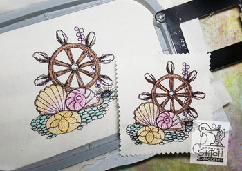 Ships Wheel - Embroidery Designs