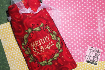 Merry & Bright Satchel - Embroidery Designs