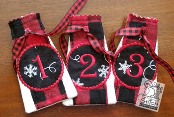 Advent Calendar #1 - Christmas - Embroidery Designs