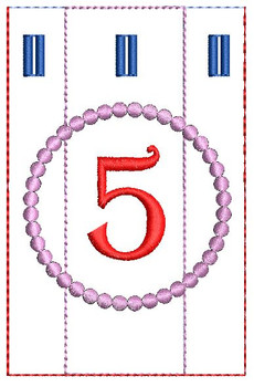 Advent Calendar #5 - Christmas - Embroidery Designs