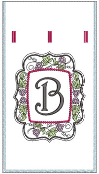 Wine Bottle Sack - B - Embroidery Designs