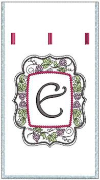 Wine Bottle Sack -E - Embroidery Designs