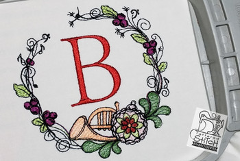 The letter B is not included with this download. This picture is for reference only.