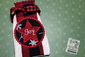 Advent Calendar Star - Christmas - Embroidery Designs