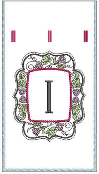 Wine Bottle Sack - I - Embroidery Designs