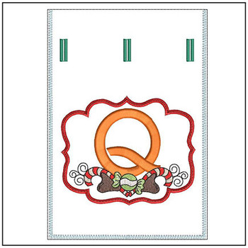 Sweet Treats Gift Bag - In The Hoop - Q - Embroidery Designs