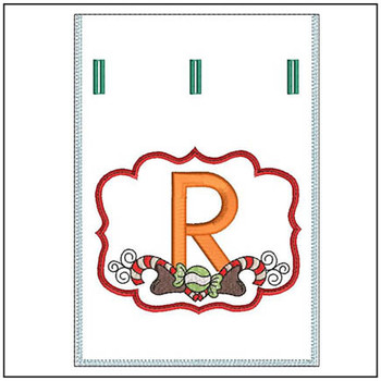 Sweet Treats Gift Bag - In The Hoop - R - Embroidery Designs