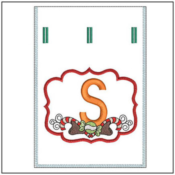 Sweet Treats Gift Bag - In The Hoop - S - Embroidery Designs