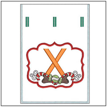 Sweet Treats Gift Bag - In The Hoop - X - Embroidery Designs