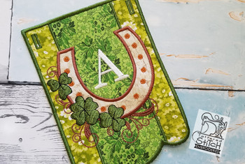 Shamrock Charm Bunting Bundle ABCs- A-E - Embroidery Designs