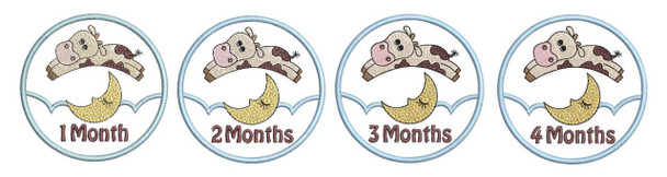 Cow Jumps Over the Moon - 1-4 - Monthly Milestones