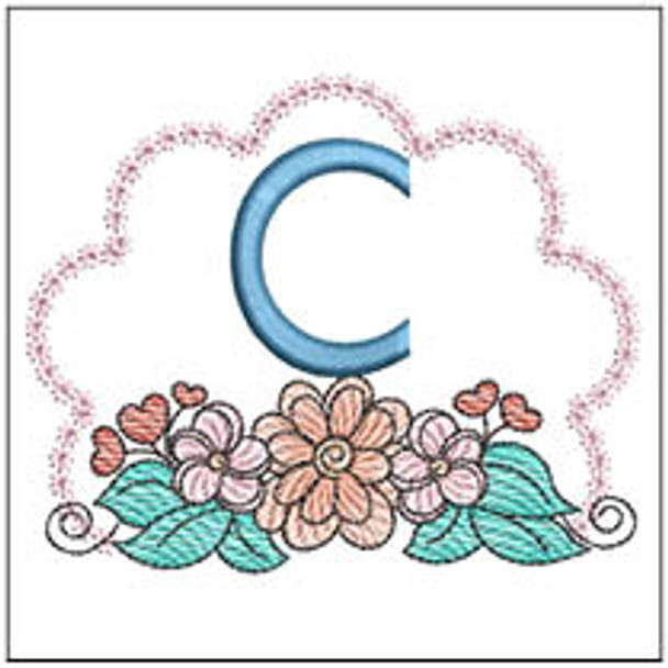 Wildflower ABCs - C - Embroidery Designs