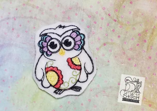 Owl Feltie - Embroidery Designs