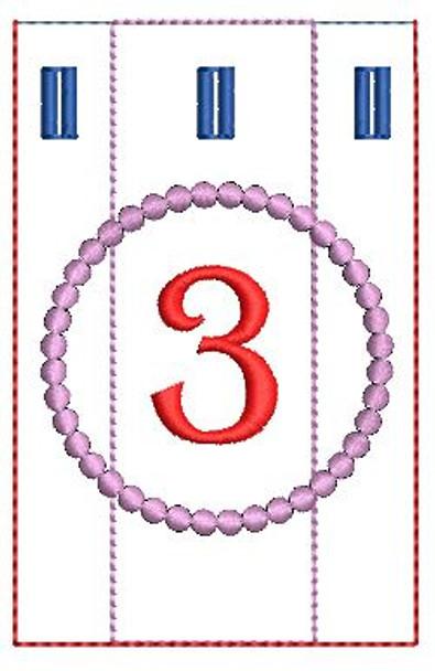Advent Calendar #3 - Christmas - Embroidery Designs