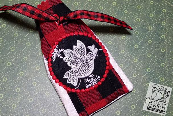 Advent Calendar Dove - Christmas - Embroidery Designs