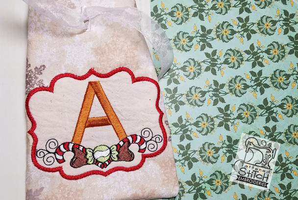 The letter A is not included with the pattern you are purchased. This photo is for reference only.