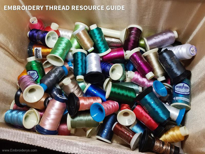 Embroidery Thread Resource Guide - Questions Answered