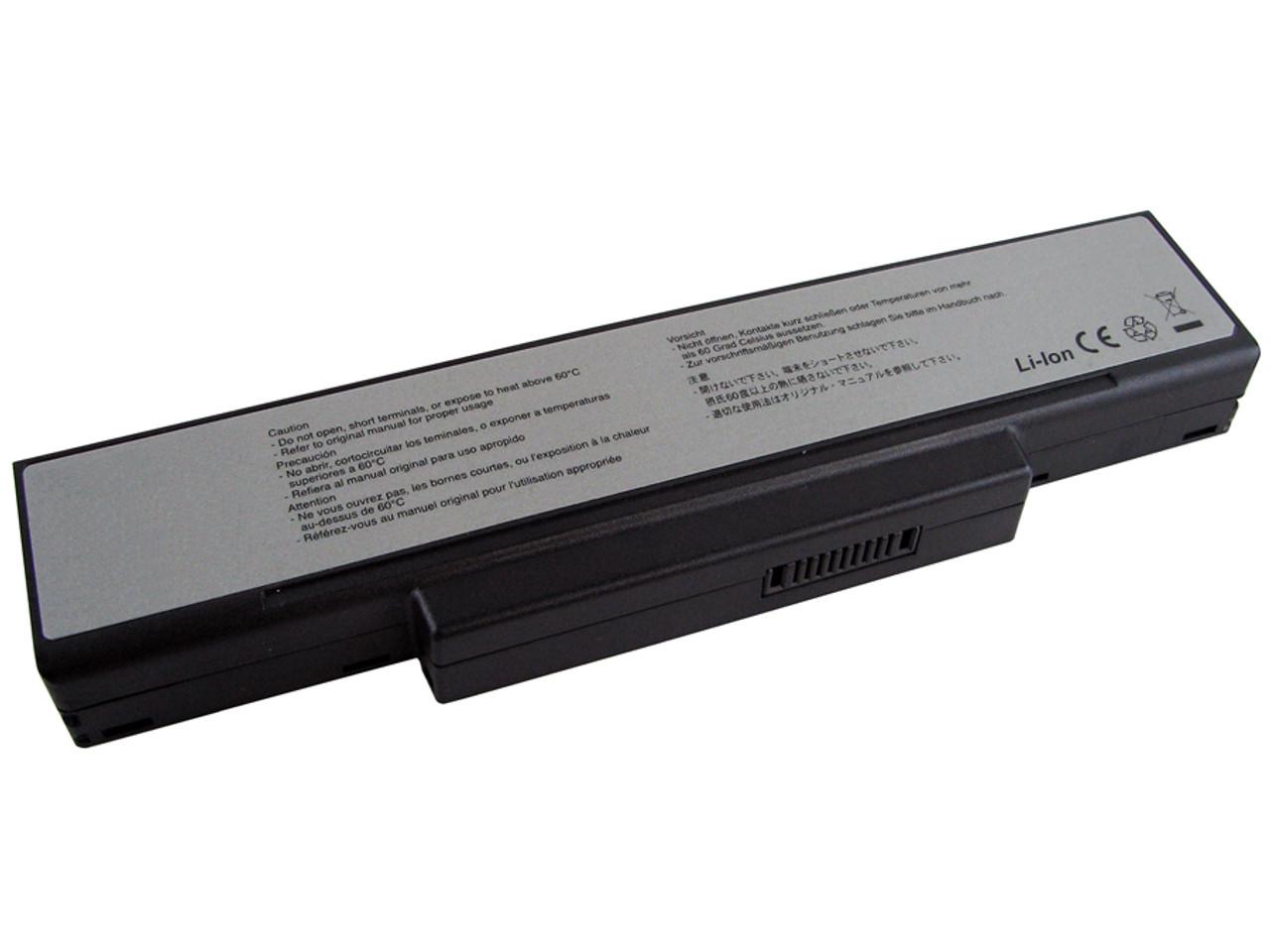 MSI Megabook M655 M660 M662 M670 battery