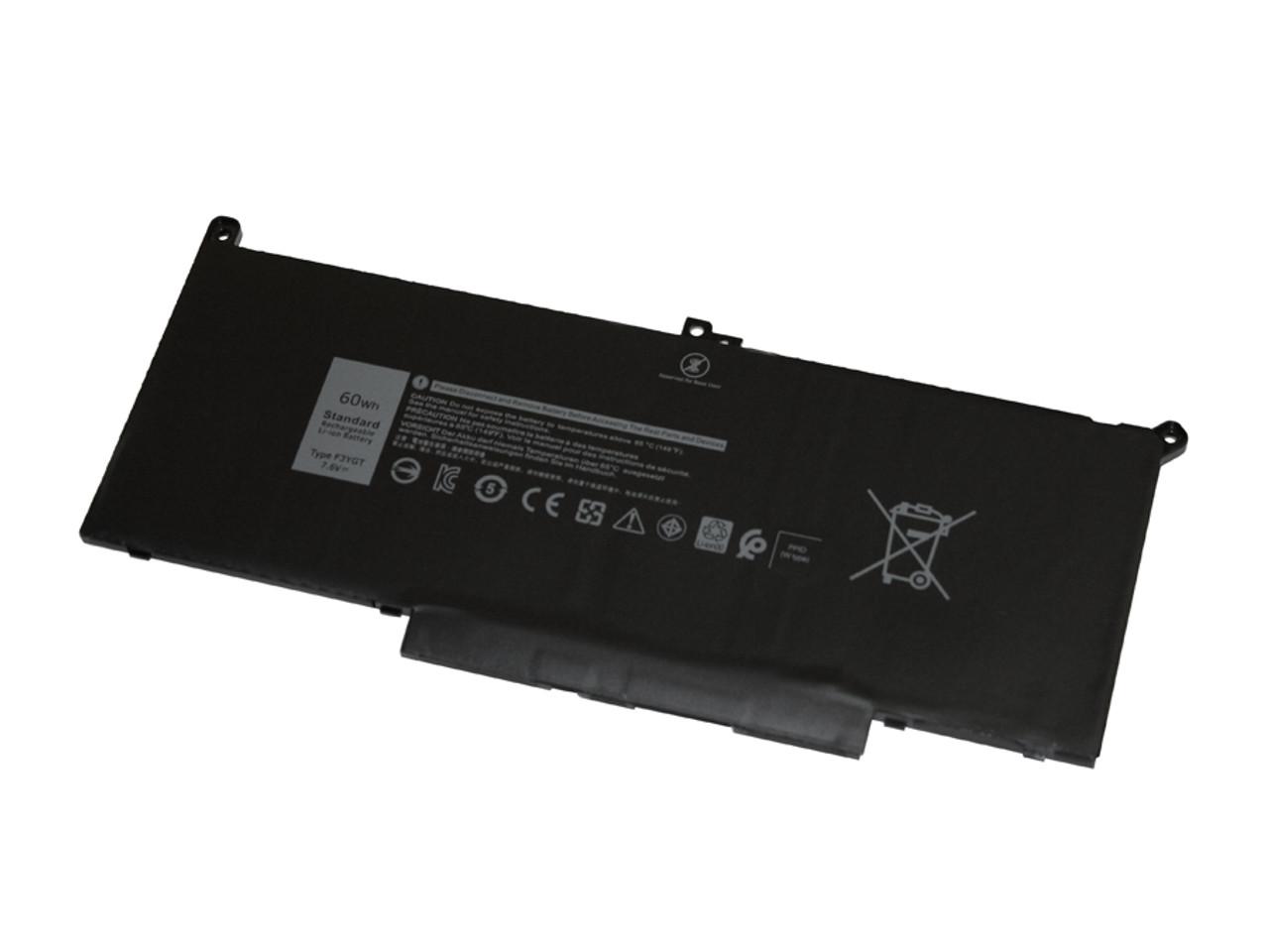 Battery for Dell Latitude 7280, 7480