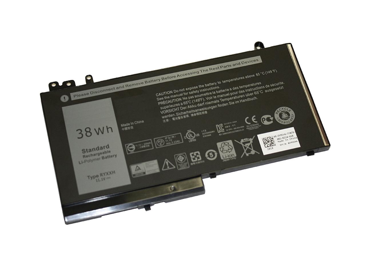Replacement  Battery for DELL Latitude E5250, E5240, E5550, 11 (3150), 11 (3160)