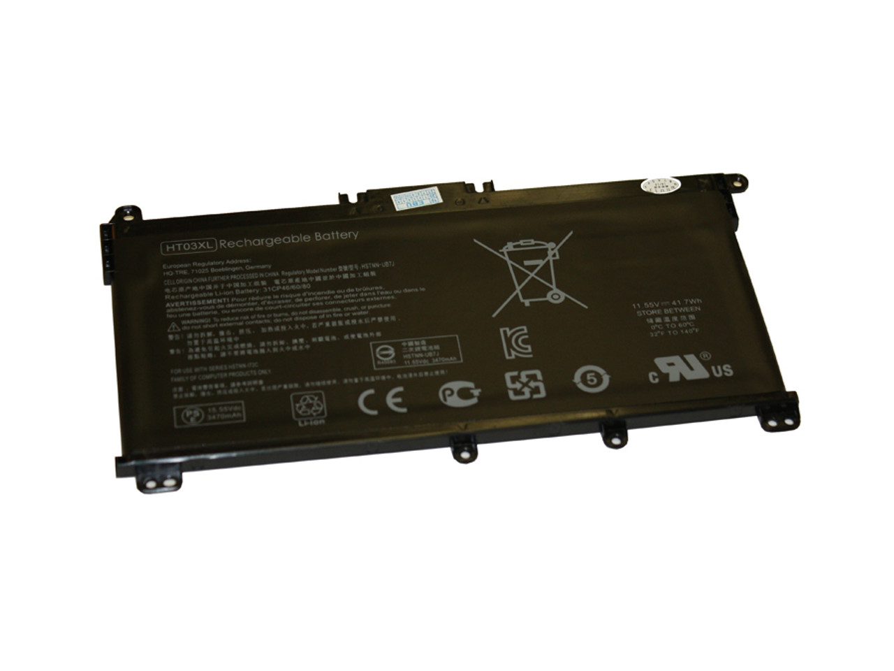 Replacement  Battery for HP - COMPAQ HP 240 G7, 246 G7, 250 G7, 255 G7, 256 G7, 340 G5, 348 G5