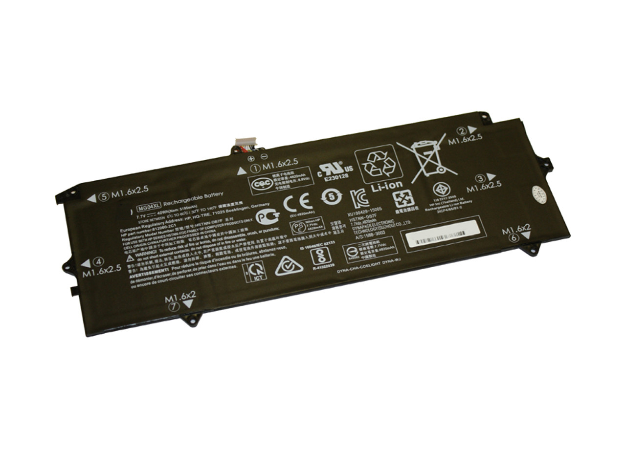 Replacement  Battery for HP - COMPAQ HP Elite X2 1012 G1