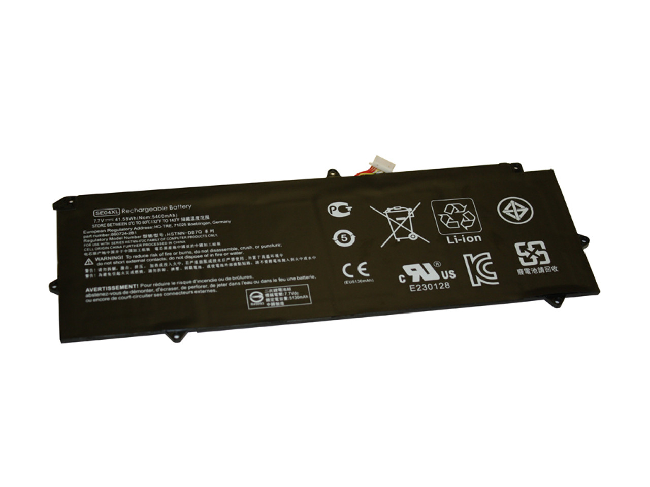 Replacement  Battery for HP - COMPAQ HP 612 G2, HP X2 612 G2, HP Pro X2 612 G2