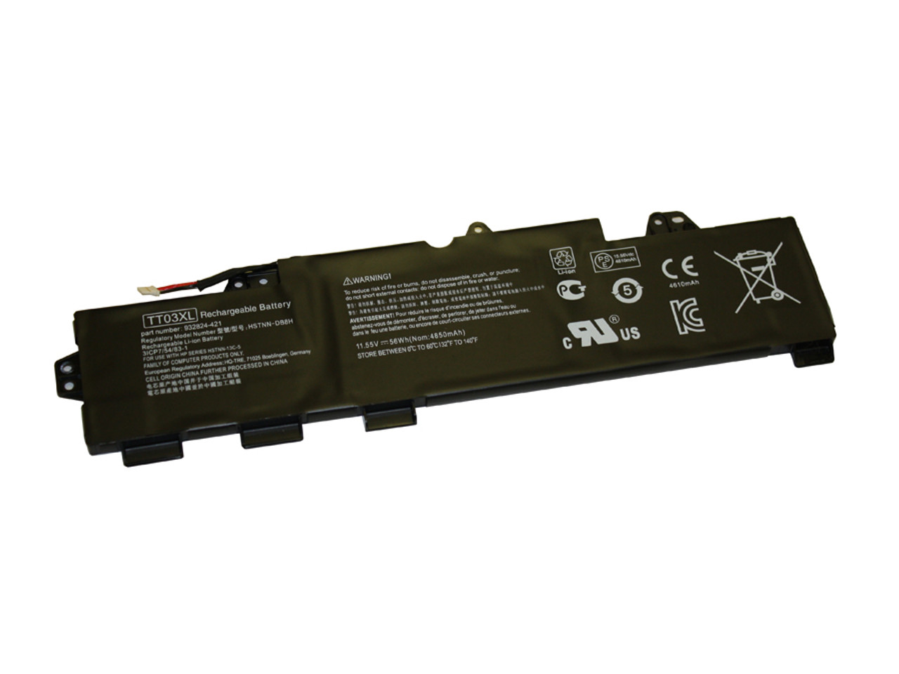 Replacement  Battery for HP - COMPAQ HP Elitebook 755 G5, 850 G5; Zbook 15U G5