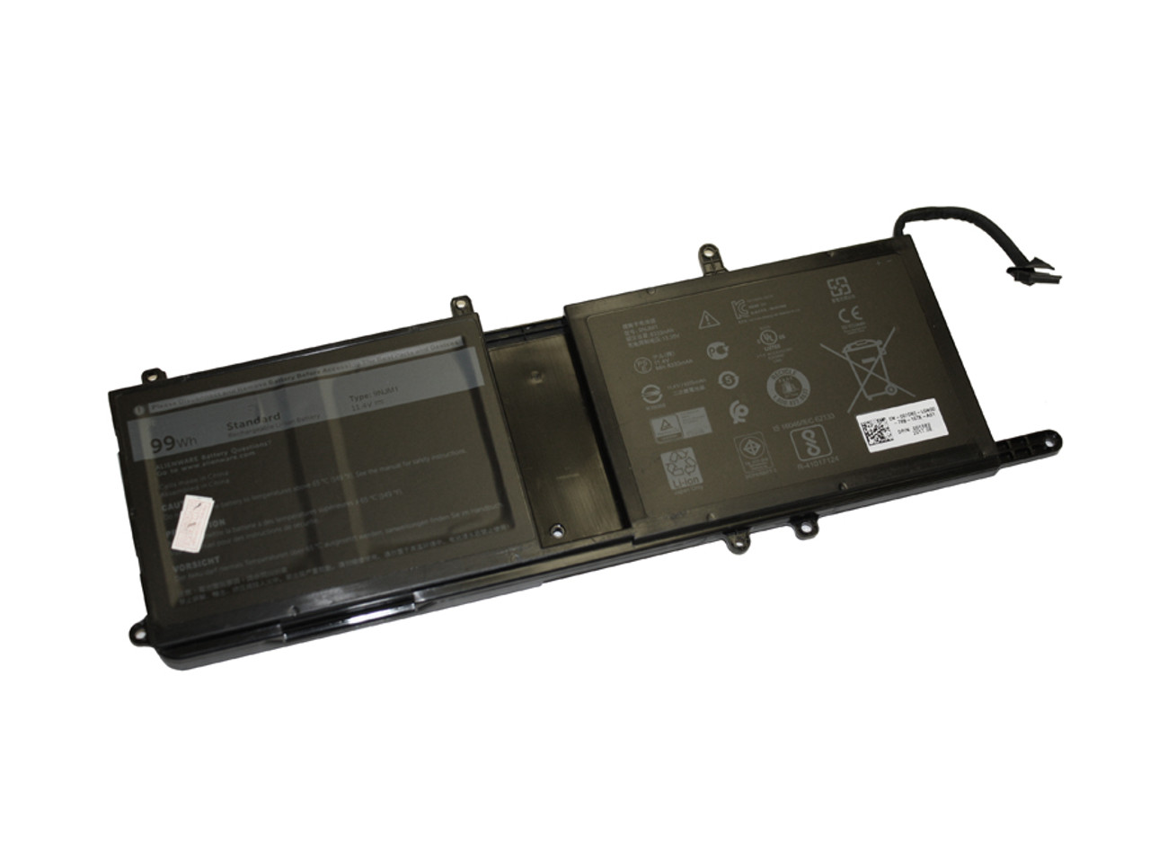 Replacement Battery for Alienware 17 R5, 15 R4, 17 R4, 15 R3