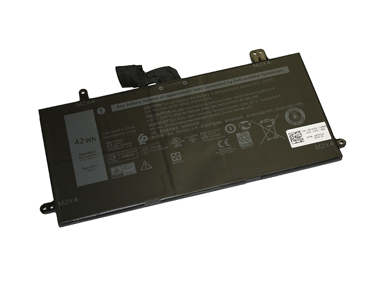 Replacement Battery for Latitude 5285, 5290