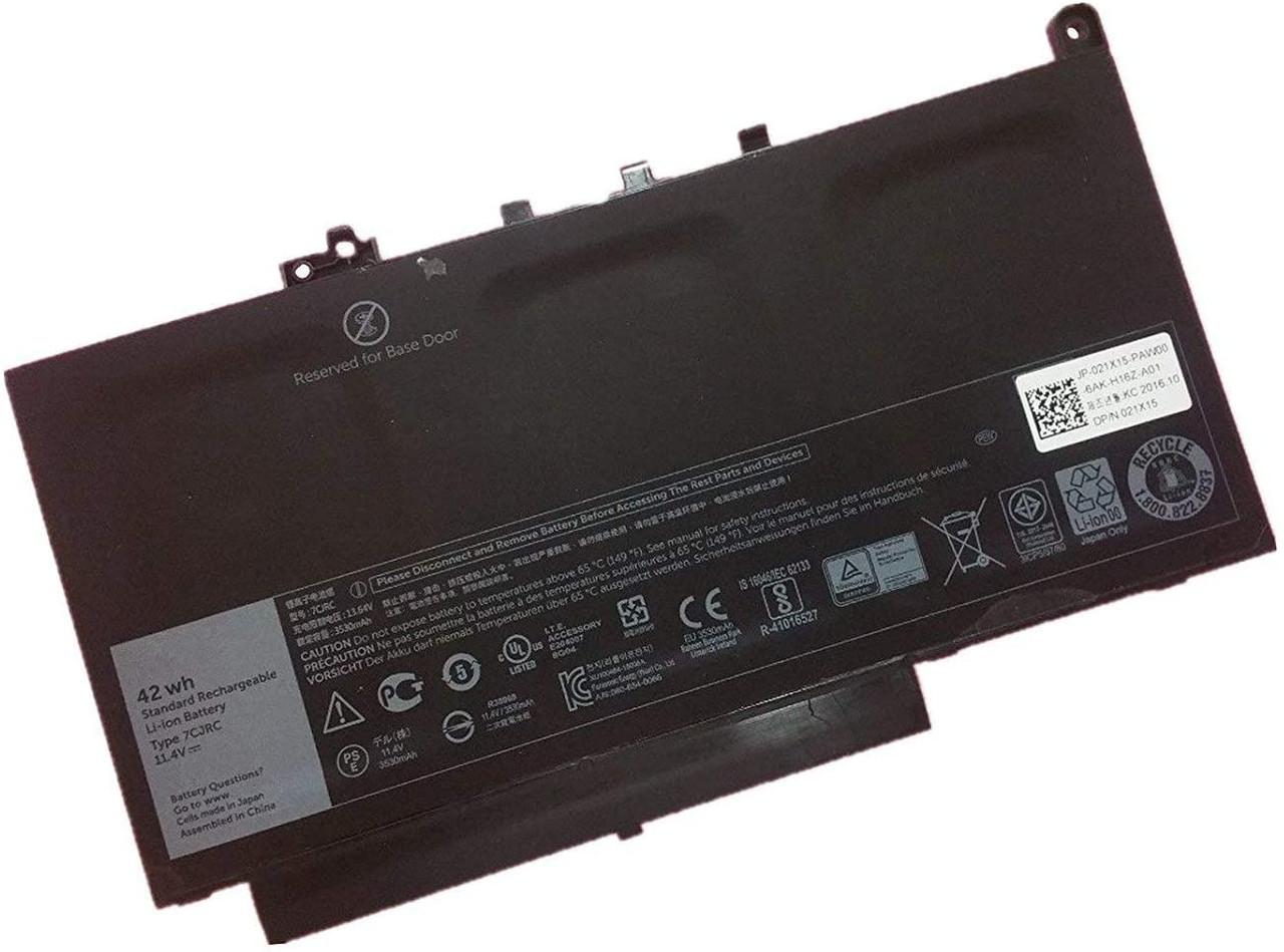 Replace Laptop Battery for Dell OEM Latitude E7470 / E7270  /7CJRC