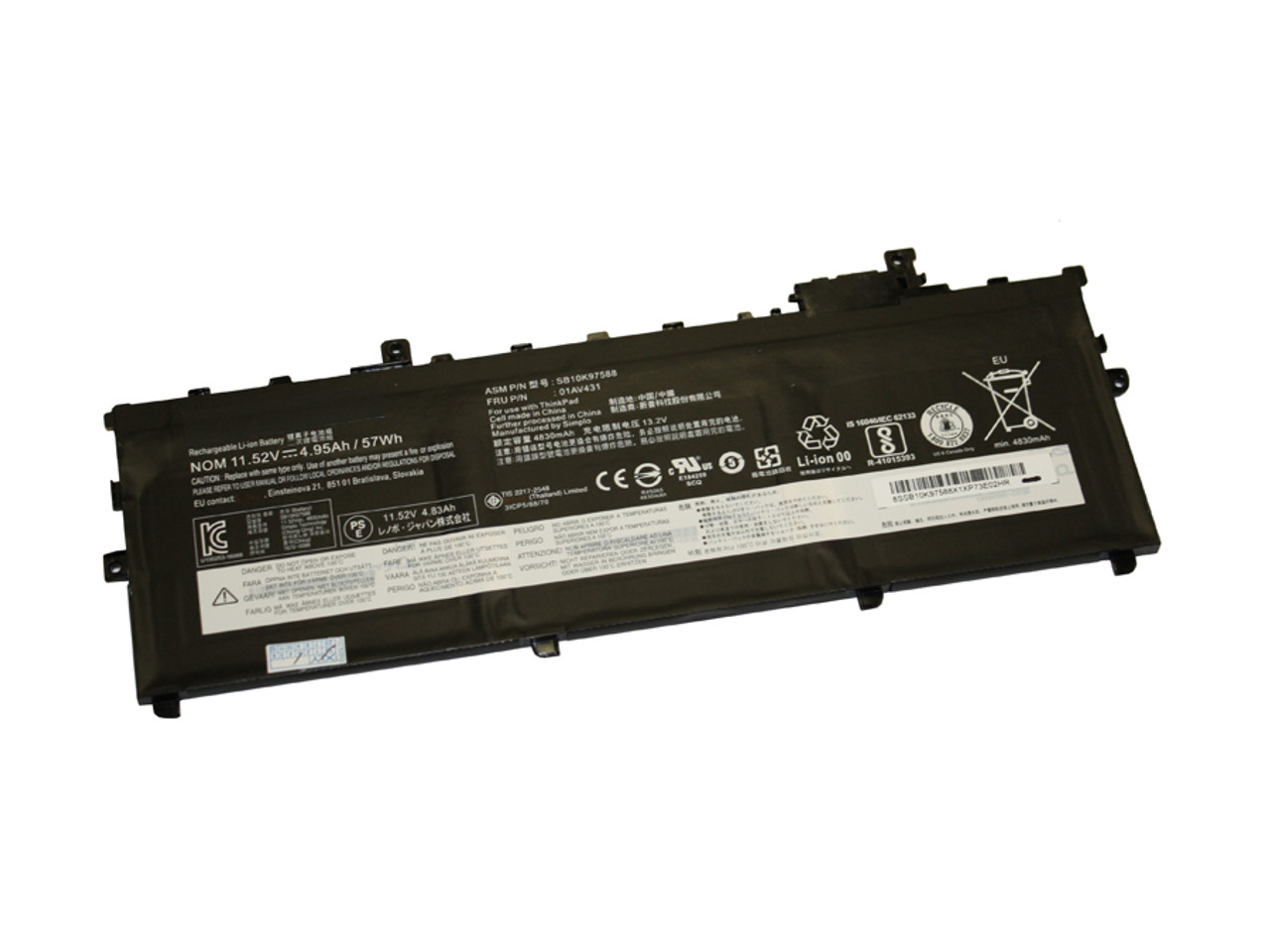 Replacement Battery for LENOVO Thinkpad X1 Carbon 5th Gen