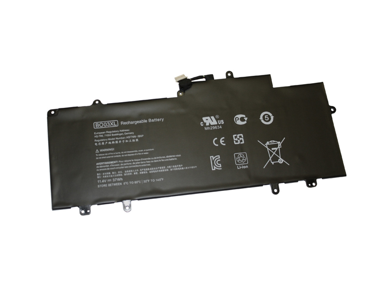 Replacement 3 cell battery for HP Chromebook 14