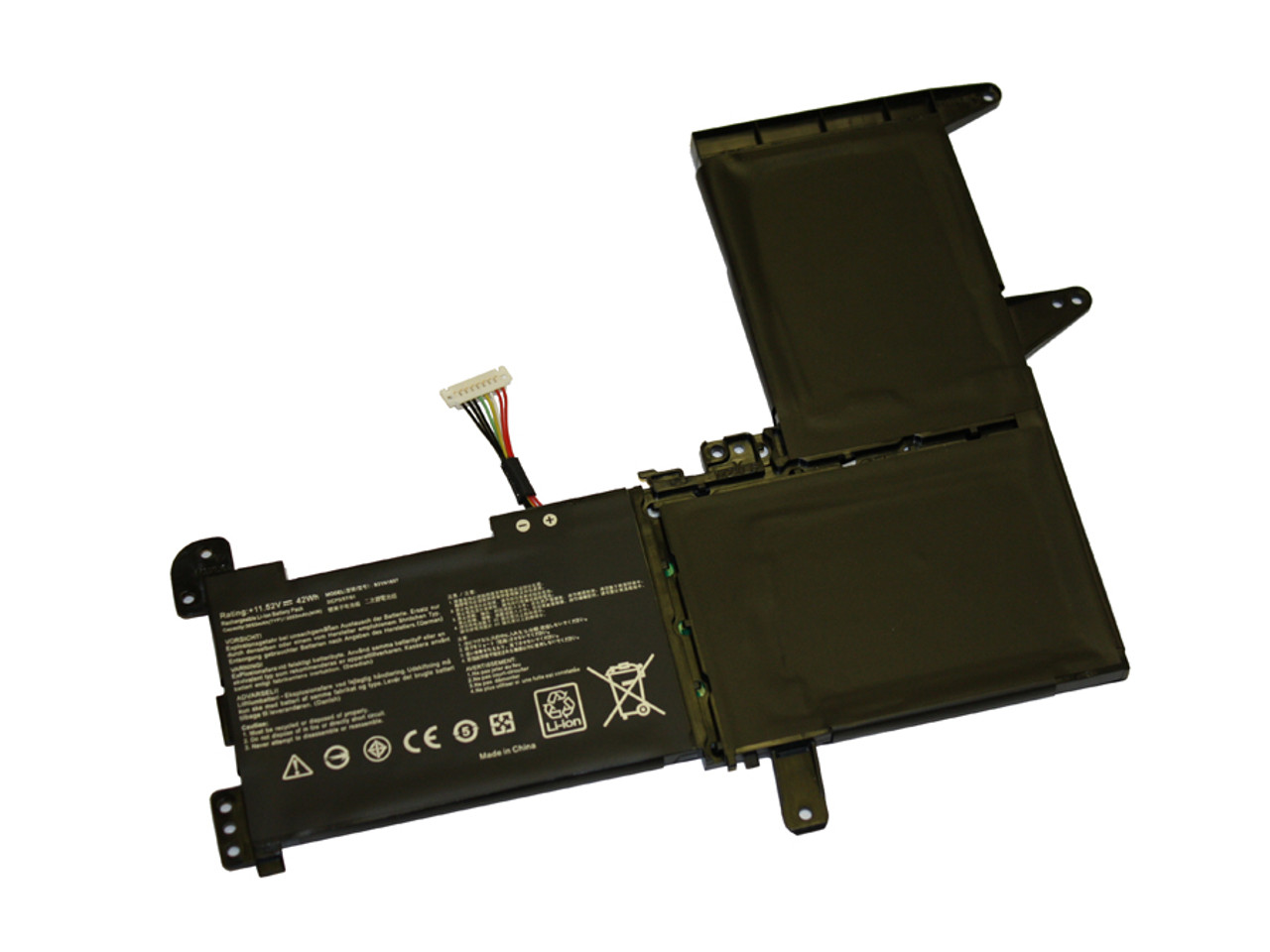 Replacement 3 cell battery for Asus Vivobook F510 S510 X510