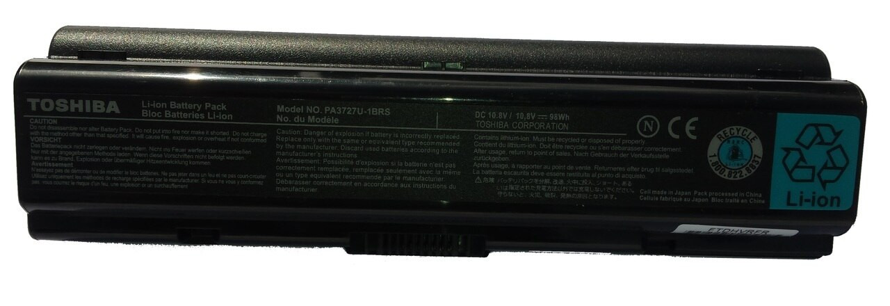 ORIGINAL TOSHIBA 12 cell Laptop Battery  for SATELLITE A200  (12 -cells 10.8V 8800mAh)  [TOS-1315OEM]