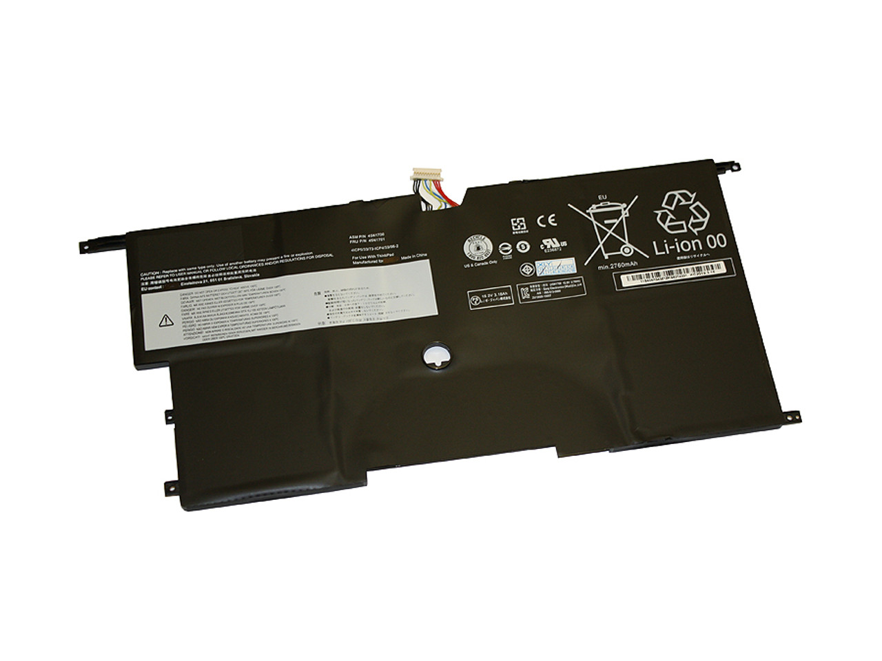 Replacement Battery for LENOVO Thinkpad X1 Carbon 2nd Gen replacing