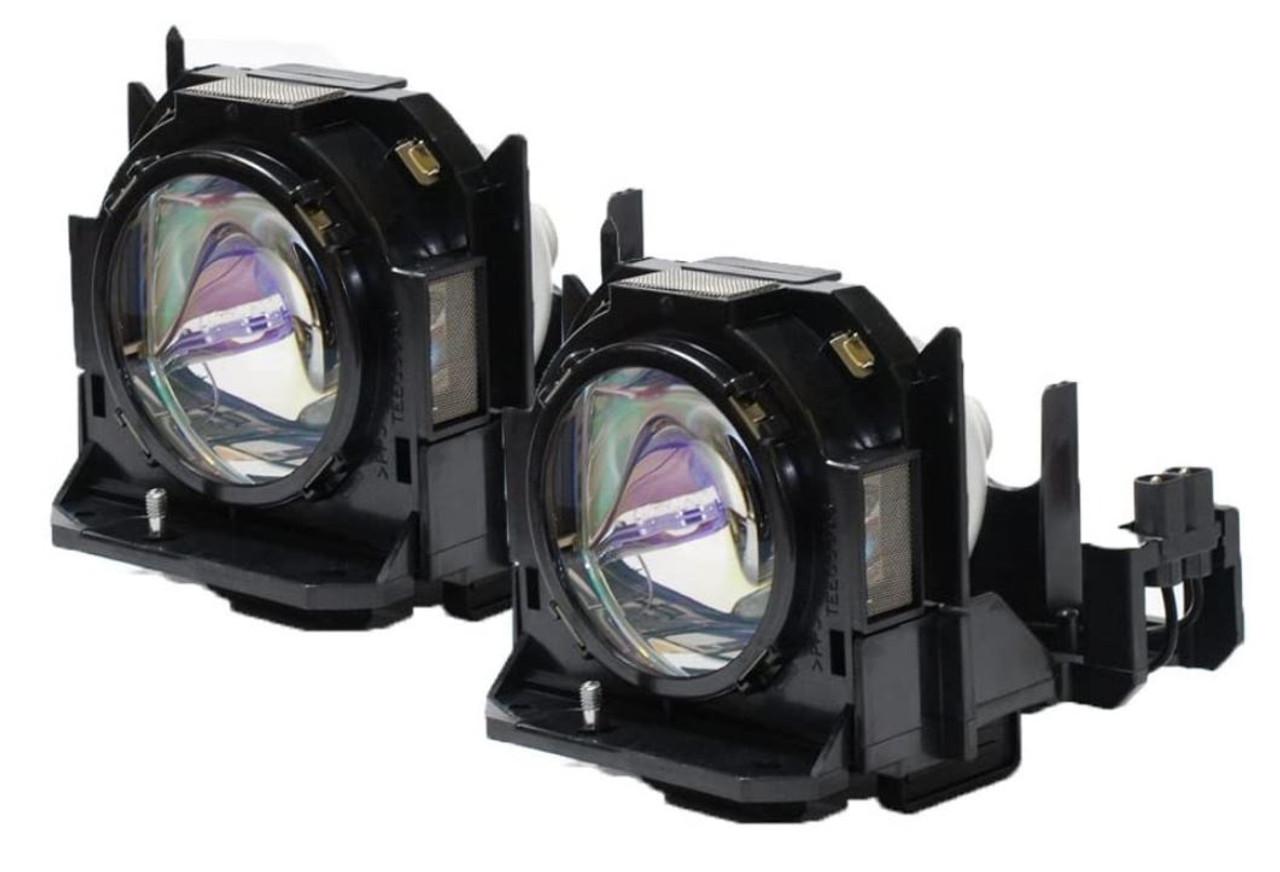 Replacement lamp for Panasonic PT-D5000, PT-D6000, PT-DW6300, PT-DW730 TWIN-PACK [NRGETLAD60WI]
